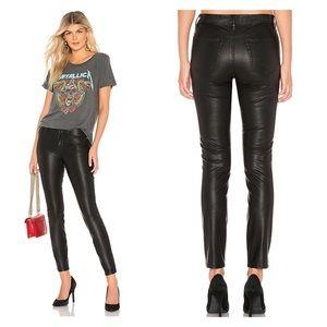 BLANKNYC Vegan Leather Pant The Bond in Boom Bap